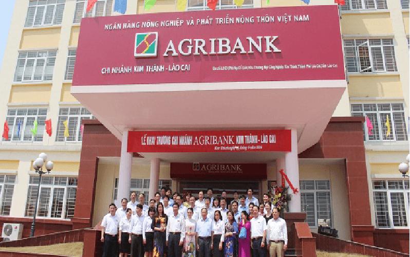 Một chi nhánh của ngân hàng Agribank