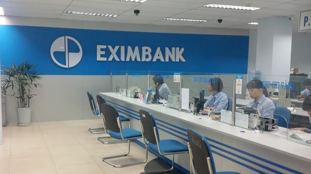 Chi nhánh Eximbank trong giờ làm việc