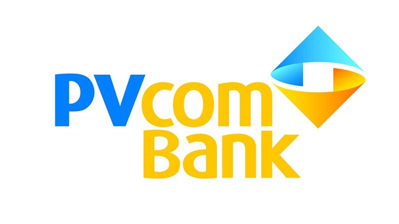 Tổng thể thiết kế logo của ngân hàng PVcomBank